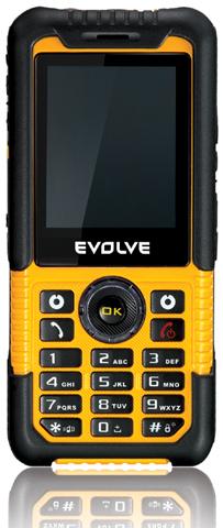 GSM mob. tel. EVOLVEO Survivor (MP3,FM,teploměr/tlakoměr/barometr/kompas)