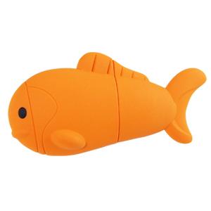 Pendrive ryba, 4 GB, USB 2.0, oranžová - Evolve