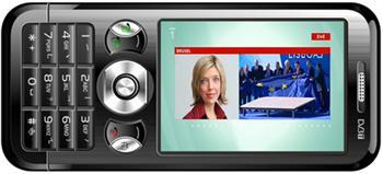Dual SIM JAVA GSM telefon EVOLVEO Eclipse s DVB-T tunerem (MP3/MP4/FM/Foto/Ebook/microSDHC)