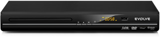 DVD/DivX přehrávač + DVB-T USB rekordér EVOLVEO Phoenix (DivX s CZ/SK titulky,MP3,JPEG,TimeShift)