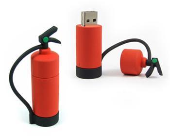 Pendrive hasící přístroj, 8 GB, USB 2.0, červený - Evolve