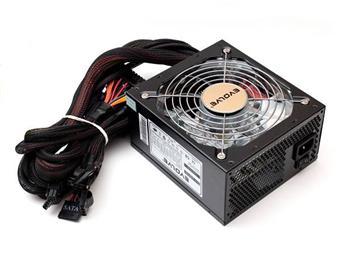 Zdroj 500W EVOLVEO Storm, EPS 12V 2.91/ATX 2.2, tichý, 14cm fan, akt. PFC, eff> 80%, 4xSATA, 2x PCIe 6+2, černý, retail