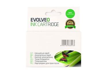 EVOLVEO CLI-521C, ink.náplň pro Canon s čipem, azurová
