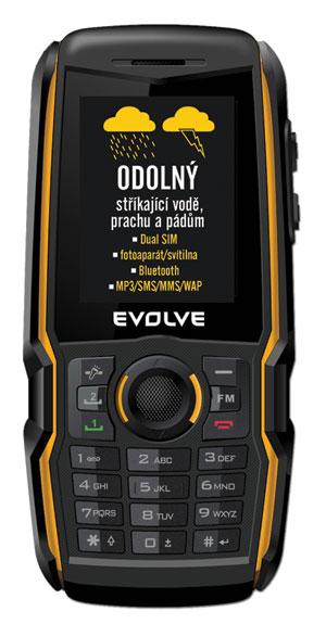 EVOLVEO Raptor - odolný mobilní telefon