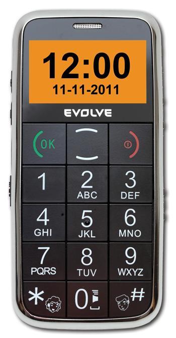 EVOLVEO Ego, mobilní telefon pro seniory