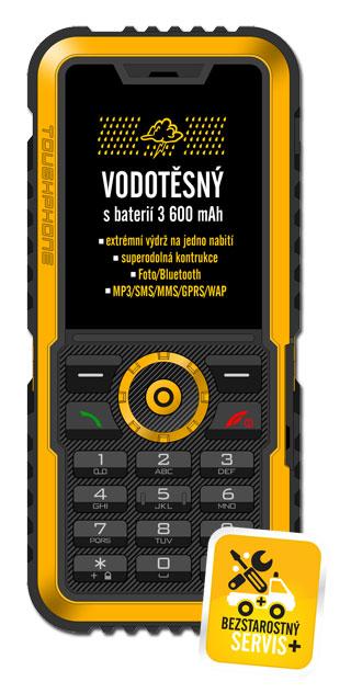 EVOLVEO Gladiator - vodotěsný odolný telefon
