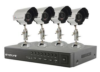 EVOLVEO Detective S4C, DVR monitorovací systém