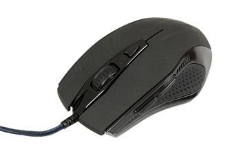 EVOLVEO BlackCat, herní myš, USB, černá