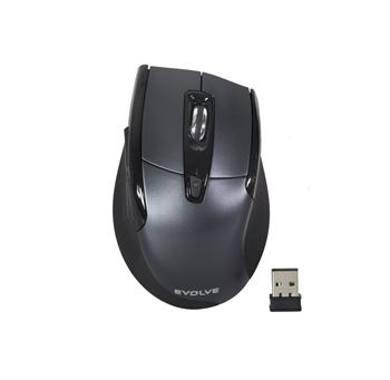 EVOLVEO WM610G wireless mouse, grey-black