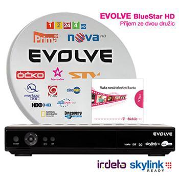 EVOLVEO BlueStar HD, satelitní komplet