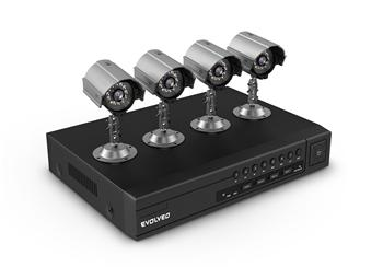 EVOLVEO Detective S4CI, DVR bezpečnostní monitorovací systém
