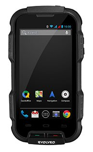 EVOLVEO StrongPhone Q4, rugged waterproof Android Quad Core Smartphone