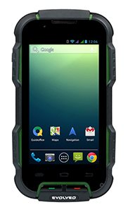 EVOLVEO StrongPhone D2, rugged waterproof Android Dual Core Smartphone