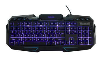 EVOLVEO GK680, herní klávesnice s podsvětlením, USB