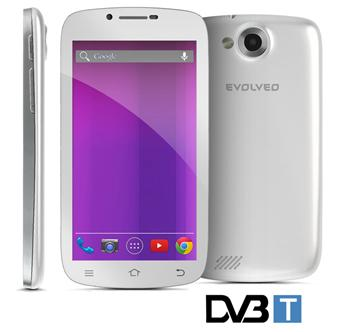 EVOLVEO XtraPhone 5.3 Q4 DVB-T, Quad Core Android smartphone