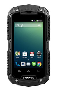 EVOLVEO StrongPhone D2 Mini, wateproof rugged Android Dual Core smartphone