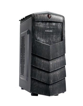 EVOLVEO F125, case ATX, čtečka SD karet -
