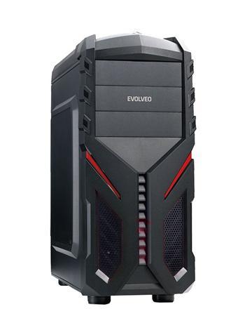 EVOLVEO S136, case ATX, čtečka SD karet -