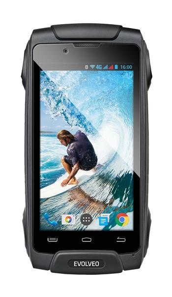 EVOLVEO StrongPhone Q8 LTE, waterproof rugged Android OctaCore Smartphone