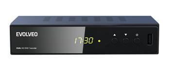 EVOLVEO Delta HD, HD DVB-T kettős tunerrel rendelkező felvevő