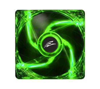EVOLVEO 12L1GR fan 120mm, 4 LED green