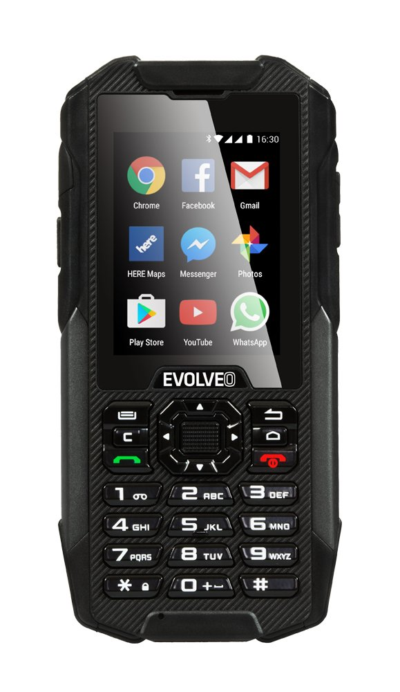 Waterproof And Rugged Android Smartphone With Keypad