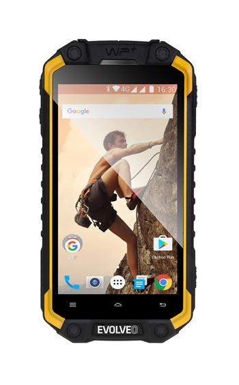 EVOLVEO StrongPhone Q9, waterproof rugged Android Quad Core smartphone