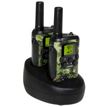 EVOLVEO FreeTalk XM2, set of 2 walkie-talkies with dual charging base