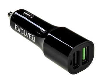 EVOLVEO MX310, Dual USB nabíječka do auta