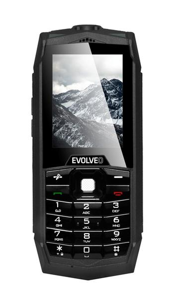 EVOLVEO StrongPhone Z1, waterproof rugged Dual SIM mobile phone