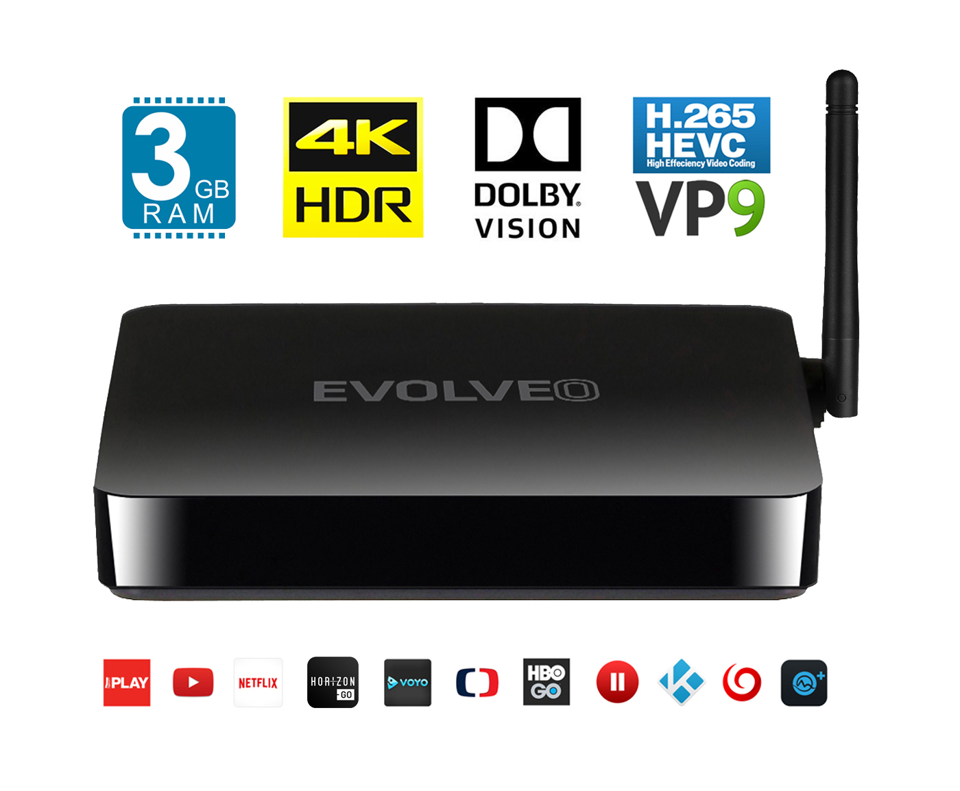 EVOLVEO Android Box M8, Octa Core multimedia centre EVOLVEO