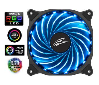 EVOLVEO 12R1, RGB Fan 120 mm, 6pin