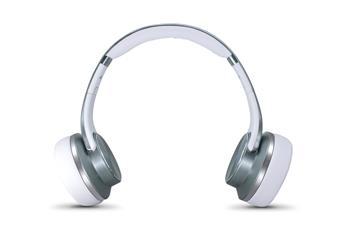 EVOLVEO SupremeSound E9, Bluetooth sluchátka a reproduktory 2v1, stříbrné