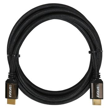 EVOLVEO XXtremeCord, HDMI 2.0b cable, 1 meter, support for UltraHD 4K2K/HDR