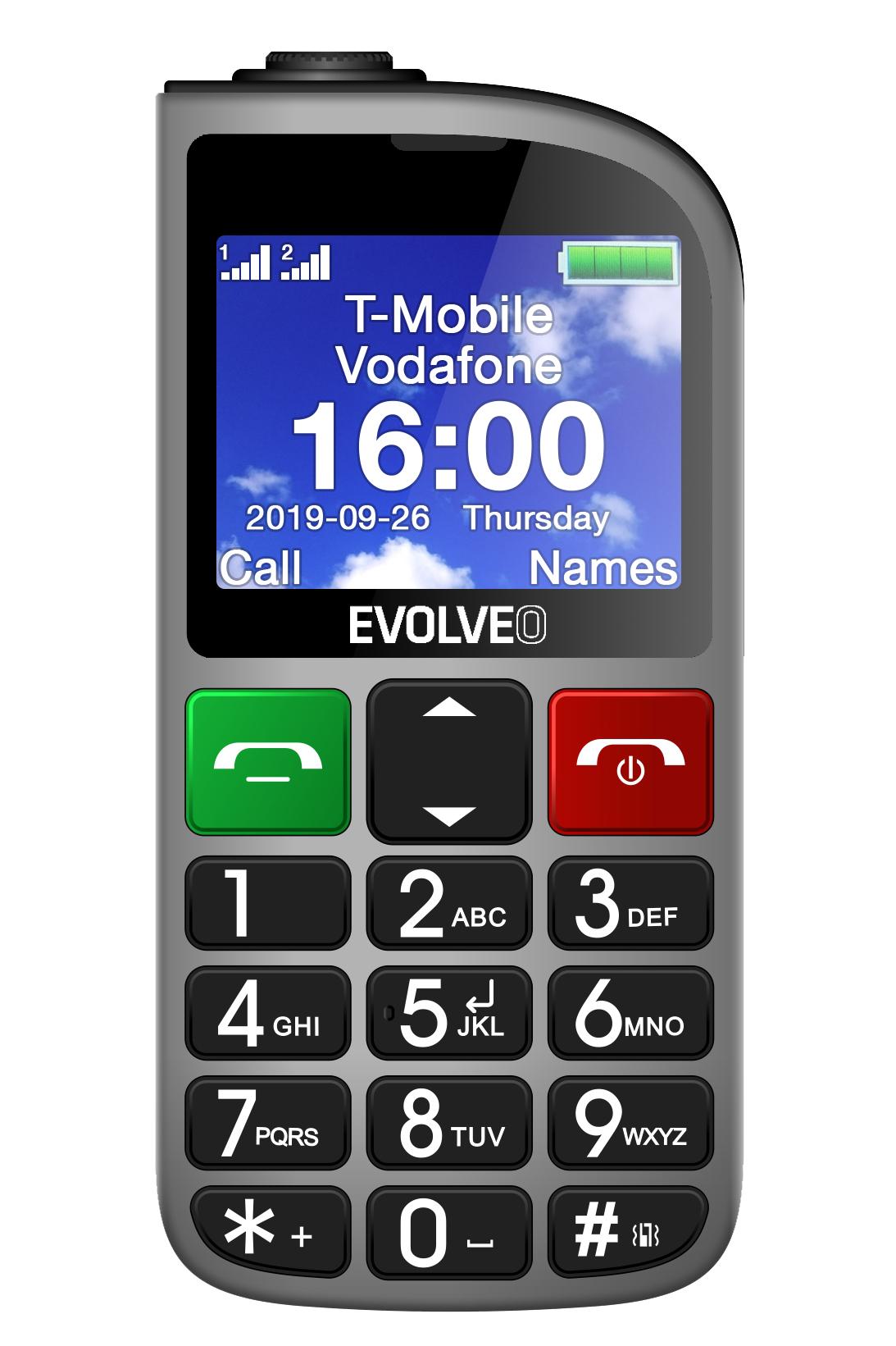 Výsledek obrázku pro EVOLVEO EasyPhone FM