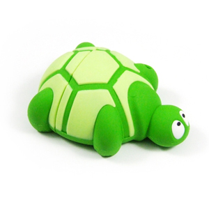 EVOLVEO Turtle 8GB, flash disk, USB 2.0, zelený