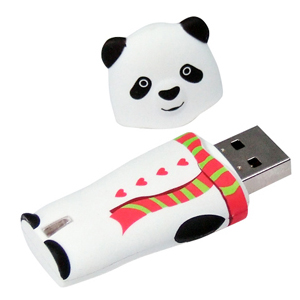 Pendrive panda, 2 GB, USB 2.0 - Evolve