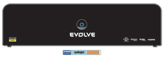 FullHD přehrávač EVOLVEO Blade 2TB (MKV/H.264/DTS/Torrent/DivX/MP3/JPEG/NAS/HDMI/USB/SATA/LAN/SDHC+MS/Internet rádio)