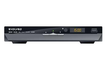 DUAL HD DVB-T recorder EVOLVEO Andromeda (USB PVR,MPEG4 HD,HDMI,Dolby Digital Plus,TimeShift,MKV,H264,NTFS,DivX,MP3,JPG)