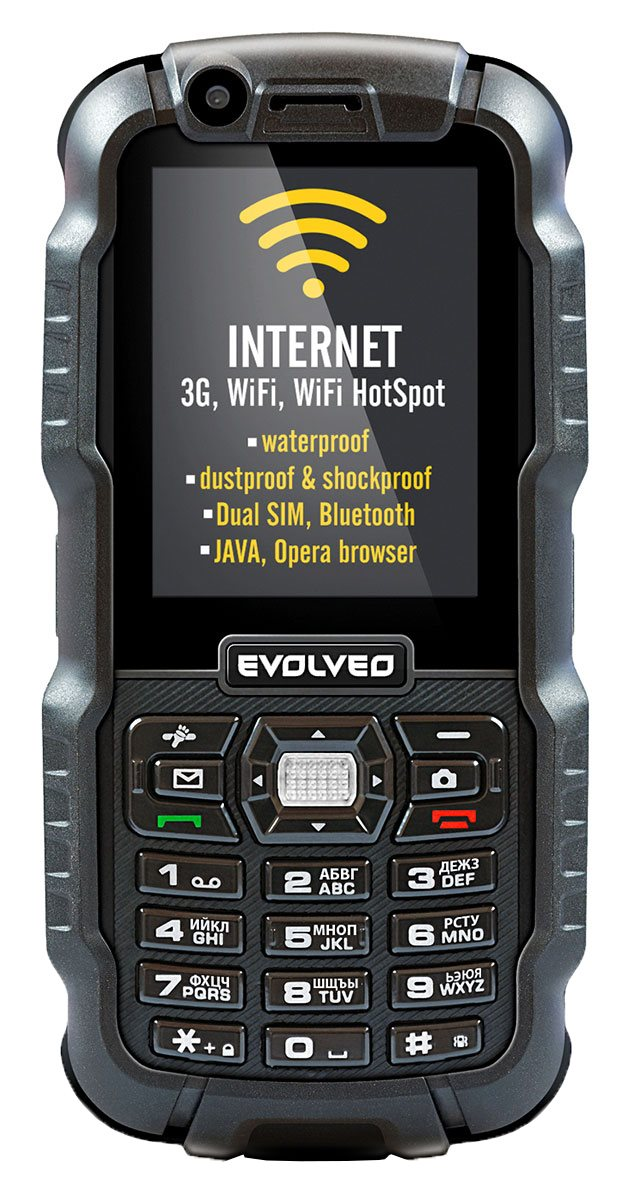 Evolveo Strongphone Wifi Rugged