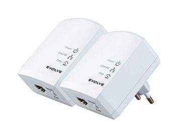 EVOLVEO PL200M KIT, 2pc power line adaptor 200Mbit/s