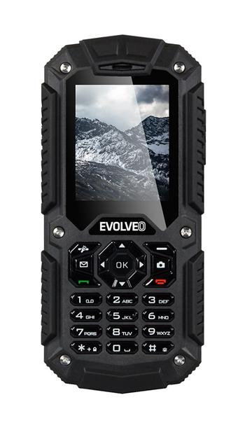 EVOLVEO StrongPhone X2, wateproof rugged Dual SIM phone