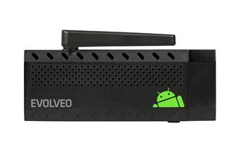 EVOLVEO Android Stick Q3 4K, Quad Core Smart TV stick with support for 4K video