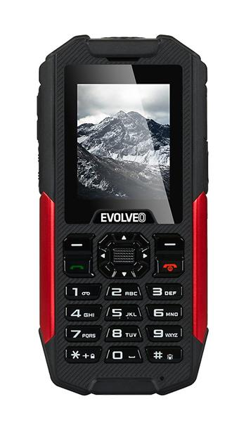 EVOLVEO StrongPhone X3, wateproof rugged Dual SIM phone