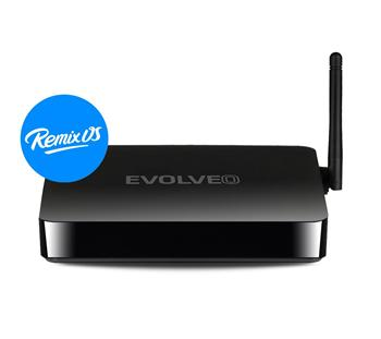 EVOLVEO Android Box Q5 4K, Quad Core Android PC (Remix OS)