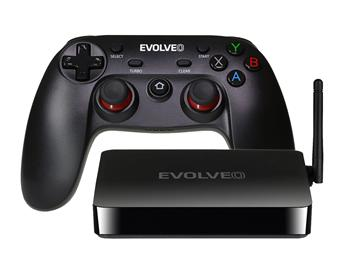 EVOLVEO Android Box H4 Plus, multimedia game center with wireless gamepad