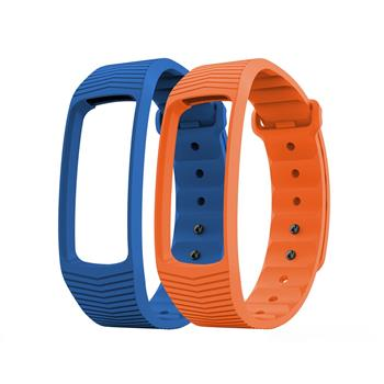 EVOLVEO FitBand B3, replacement colour strips, 1x blue and 1x orange colour