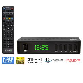 EVOLVEO Alpha T2, HD DVB-T2 H.265/HEVC Recorder