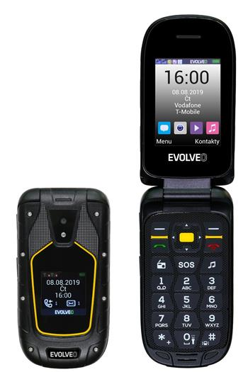 EVOLVEO StrongPhone F5, waterproof rugged Dual SIM mobile phone