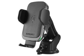 EVOLVEO Chargee CarWL15, Phone car holder with wireless charger 15W